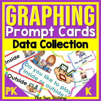 #Fallfordollardeals Graphing Question of the Day Activity Prompts for Pre-K & K