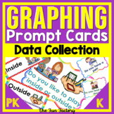Daily Graphing Activities | Kindergarten & PreK Graphing Prompts