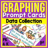 Daily Graphing Activities | Kindergarten & PreK Graphing Prompts