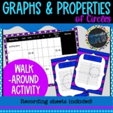 Graphing & Properties of Circles Walk Around Activity; Alg