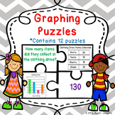 3rd Grade Bar Graphs & Pictographs & Tally Marks & Line Plot Game Puzzles 3.MD.3