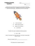 Graphing Quadratic Equations (Overhead Transparencies)