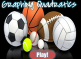 Graphing Quadratic Equations (PowerPoint Sport Game)
