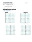 Graphing Quadratic Equations Worksheet