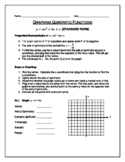 Graphing Quadratic Equations and Factoring Algebra 2 Notes
