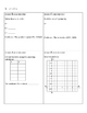 Graphing Quadratic Equations in Standard Form - Group Activity