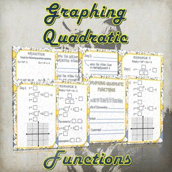 Graphing Quadratic Functions - (Guided Notes and Practice)
