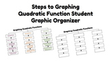 Graphing Quadratic Functions Organizer