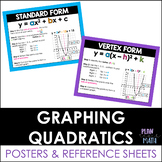 Graphing Quadratic Functions - Posters