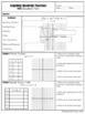 Graphing Quadratic Functions (Standard Form) - Notes, PowerPoint, and Homework
