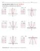 Graphing Quadratic Functions f(x)=ax^2 ALGEBRA Worksheet FREE SAMPLE