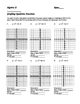 graphing quadratic functions in standard form by darwin zimmerman. Black Bedroom Furniture Sets. Home Design Ideas