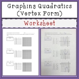 Graphing Quadratic Equations Standard Form Teaching Resources