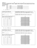 Graphing Quadratic Inequalities - Group Activity
