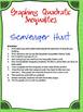 Graphing Quadratic Inequalities (Scavenger Hunt)