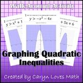 Graphing Quadratic Inequalities Walk-around Activity