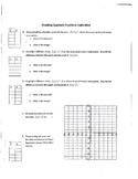 Graphing Quadratic Parent Function Transformations Exploration Activity