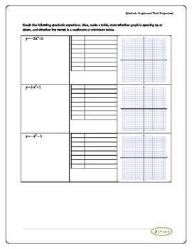 Graphing Quadratics 1