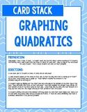 Graphing Quadratics Card Stack