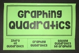 Graphing Quadratics (Foldable for Algebra 1)