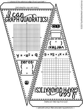 Graphing Quadratics Pennant