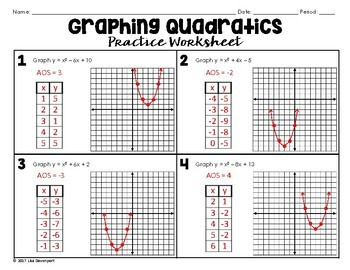 graphing quadratics in standard form worksheet resultinfos. Black Bedroom Furniture Sets. Home Design Ideas