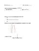 Graphing Quadratics Review Sheet