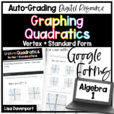 Graphing Quadratics (Standard & Vertex Form)- for use with Google Forms