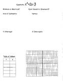 Graphing Quadratics in Standard Form