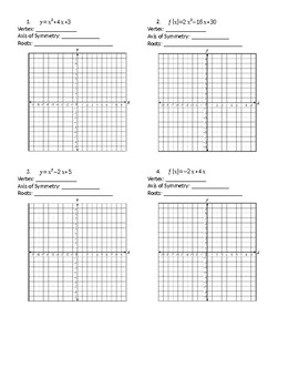 Graphing Quadratics with Graphing Calculator