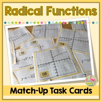 Graphing Radicals Teaching Resources Teachers Pay Teachers