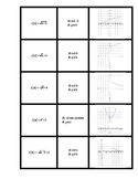 Graphing Radical Functions Matching Activity
