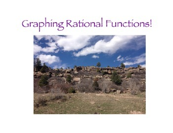 Graphing Rational Expressions Flipchart