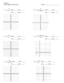 Graphing Rational Functions
