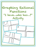Graphing Rational Functions Activity