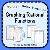 Graphing Rational Functions Activity: Fix Common Mistakes!