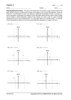 Graphing Rational Functions: By Elimination