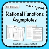 Rational Functions Activity FREE: Math Sprints
