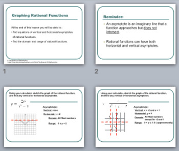 Graphing Rational Functions Notes