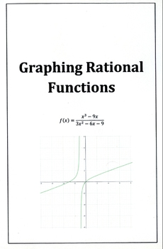 Graphing Rational Functions Notes (Foldable)