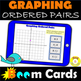 Graphing Ordered Pairs Four Quadrants of the Coordinate Pl