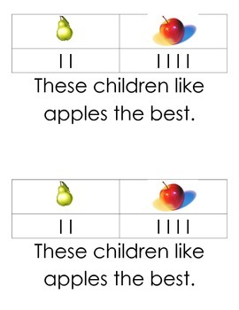 Graphing Reader for Kindergarten