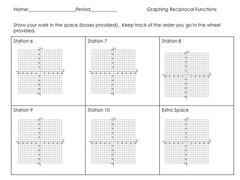 Graphing Reciprocal Function Families (Circuit Training)