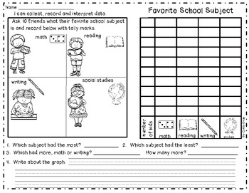 Graphing ~ Record and Interpret Data