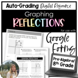 Graphing Reflections- for use with Google Forms