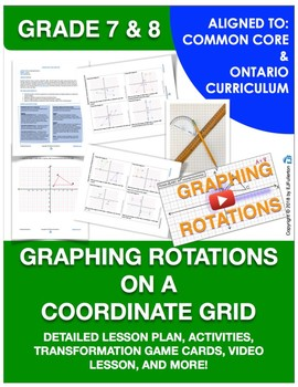 Rotations On The Coordinate Worksheets & Teaching Resources
