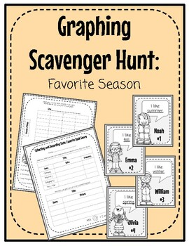 Graphing Scavenger Hunt: Favorite Season