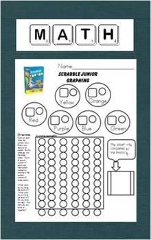 Graphing Scrabble Junior Fruit Snacks Too!