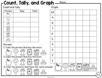 Graphing Activities for September