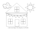 Graphing Shapes House